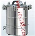 不銹鋼手提式壓力蒸汽滅菌器 全不銹鋼蒸汽滅菌器