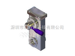 小型不锈钢闸阀(KF法兰接口)