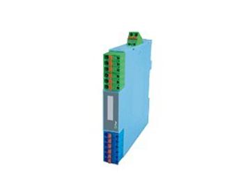 高精度变送器电流信号二线制隔离配电器(二线制回路供电 二入二出)