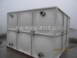 1-2000立方-smc组合式玻璃钢水箱-腾翔玻璃钢组合式水箱厂家是国内*
