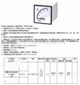 報警交流電流表() 型號:MN3/KLY-A96-2-AC